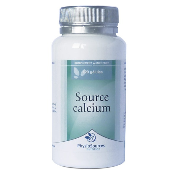 Source Calcium 120 gélules